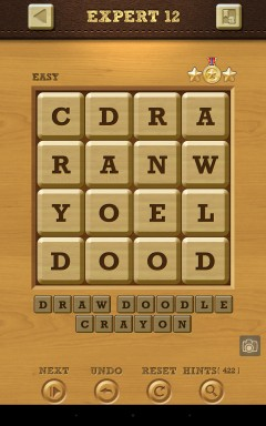 Words Crush Easy Expert Level 12