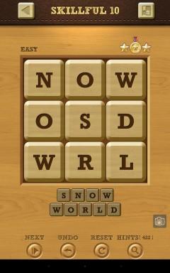 Words Crush Easy Skillful Level 10