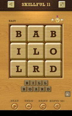 Words Crush Easy Skillful Level 11
