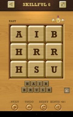 Words Crush Easy Skillful Level 6