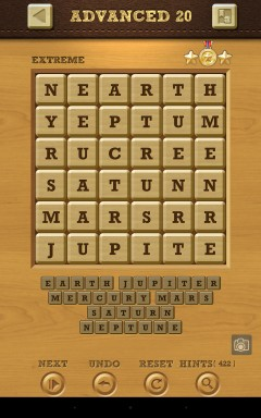 Words Crush Extreme Advanced Level 20