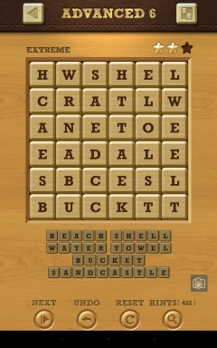 Words Crush Extreme Advanced Level 6