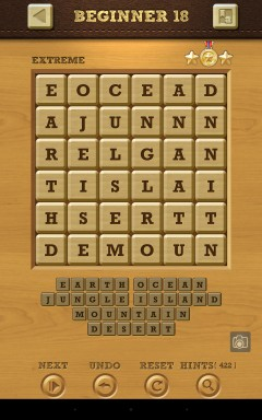 Words Crush Extreme Beginner Level 18