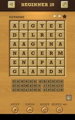 Words Crush Extreme Beginner Level 20
