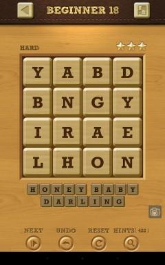 Words Crush Hard Beginner Level 18