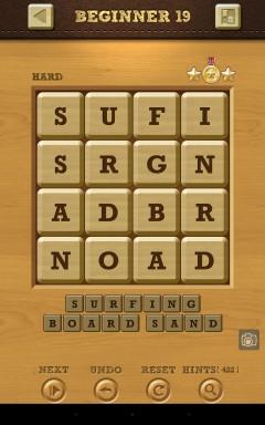 Words Crush Hard Beginner Level 19
