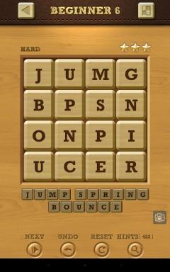 Words Crush Hard Beginner Level 6