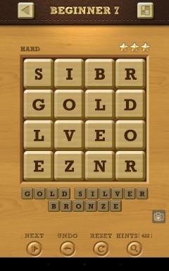 Words Crush Hard Beginner Level 7