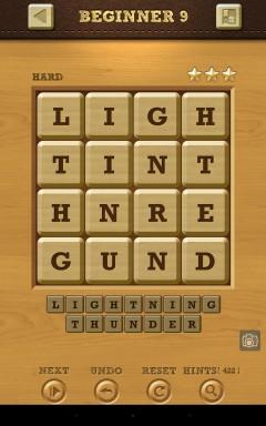 Words Crush Hard Beginner Level 9