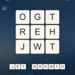 Word Cubes Atom Level 10