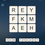Word Cubes Atom Level 14