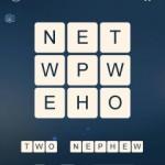 Word Cubes Atom Level 2