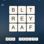 Word Cubes Atom Level 20