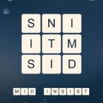Word Cubes Atom Level 8