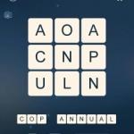 Word Cubes Atomic Nucleus Level 1