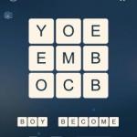 Word Cubes Atomic Nucleus Level 2