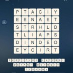 Word Cubes Bear Level 9