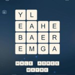 Word Cubes Cell Level 19