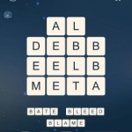Word Cubes Cell Level 3