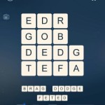 Word Cubes Cell Level 9