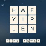 Word Cubes Neutron Level 19
