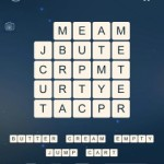 Word Cubes Oyster Level 12