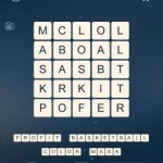 Word Cubes Oyster Level 7
