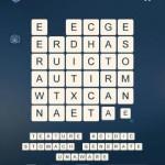 Word Cubes Plane Level 17