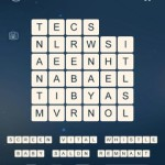 Word Cubes Plane Level 4