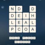 Word Cubes Plankton Level 2