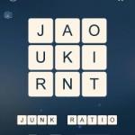 Word Cubes Quark Level 13