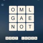 Word Cubes Quark Level 18