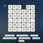 Word Cubes Shark Level 14