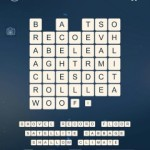 Word Cubes Ship Level 17