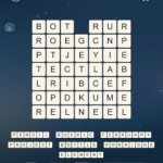 Word Cubes Ship Level 8