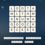 Word Cubes Sparrow Level 10