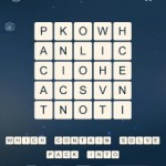 Word Cubes Sparrow Level 2