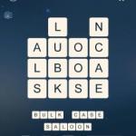 Word Cubes Virus Level 1