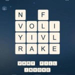 Word Cubes Virus Level 19