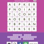 Word Trek Alabaster Level 11