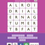 Word Trek Alabaster Level 21