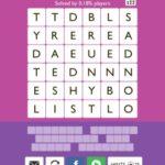 Word Trek Alpha Level 18