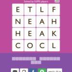 Word Trek Hera Level 2