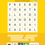 Word Trek Whale Level 9