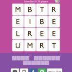 Word Trek jupiter Level 9