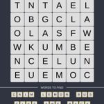 Mind The Word Level 19 Puzzle 13