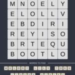 Mind The Word Level 19 Puzzle 22