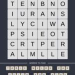 Mind The Word Level 19 Puzzle 24