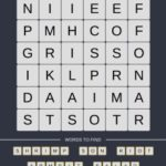 Mind The Word Level 19 Puzzle 8