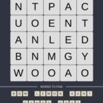 Mind The Word Level 9 Puzzle 16